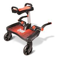 Lascal BuggyBoard für Kinderwagen Maxi+ Rot Saddle Rot
