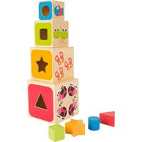 Legler Stacking Cube ABC