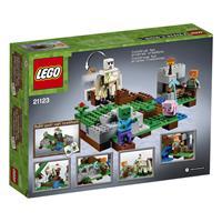 Lego Minecraft Der Eisengolem 21123 Detailansicht 01