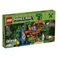Lego Minecraft Das Dschungel-Baumhaus 21125