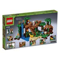 Lego Minecraft Das Dschungel Baumhaus 21125 Detailansicht 01
