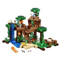 Lego Minecraft Das Dschungel Baumhaus 21125 Detaillierte Ansicht 02