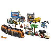 Lego City 60097 Stadtzentrum Detaillierte Ansicht 02
