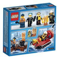 Lego City Feuerwehr Starter Set 60106 Detailansicht 01