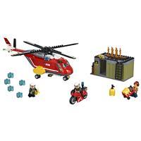 Lego City Feuerwehr Löscheinheit 60108 Detaillierte Ansicht 02
