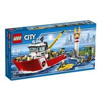 Lego City Feuerwehrschiff 60109