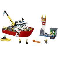 Lego City Feuerwehrschiff 60109 Detaillierte Ansicht 02