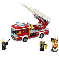 Lego City Feuerwehr Einsatzfahrzeug 60111 Detaillierte Ansicht 02
