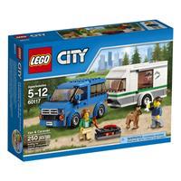 Lego City Van & Wohnwagen 60117