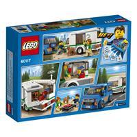Lego City Van & Wohnwagen 60117 Detailansicht 01