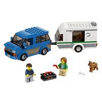 Lego City Van & Wohnwagen 60117 Detaillierte Ansicht 02
