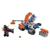 Lego Nexo Knights Knighton Scheiben Werfer 70310 Detaillierte Ansicht 02