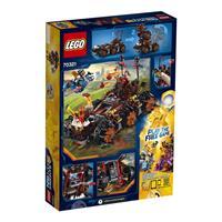 Lego Nexo Knights General Magmars Schicksalsmobil Detailansicht 01
