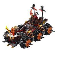 Lego Nexo Knights General Magmars Schicksalsmobil Detaillierte Ansicht 02