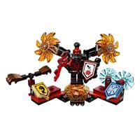 Lego Nexo Knights Ultimativer General Magmar 70338 Detaillierte Ansicht 02