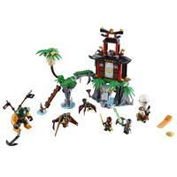 Lego Ninjago Schwarze Witwen Insel 70604 Detaillierte Ansicht 02