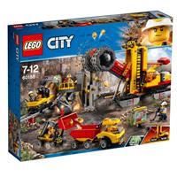 Lego City mining professionals at the mining site