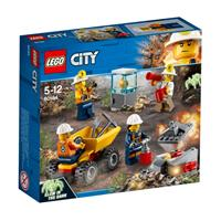 Lego City toy mining team 60184