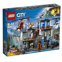 Lego City toy headquarters of Mountain Police 60174