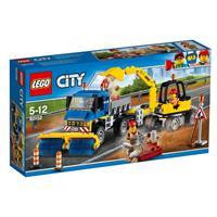 Lego City Strassenreiniger und Bagger