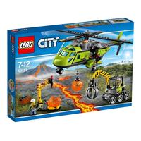 Lego City Vulkan-Versorgungshelikopter 60123