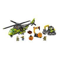 lego city vulkan versorgungshelikopter 60123 3 Detaillierte Ansicht 02