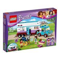 Lego Friends Pferdeanhänger und Tierärztin 41125