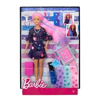 Mattel Barbie Haarfarben Spass Puppe