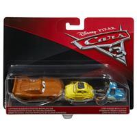 Mattel Disney Cars 3 Die-Cast 2er-Pack DXV99 Lightning McQueen & Luigi & Guido