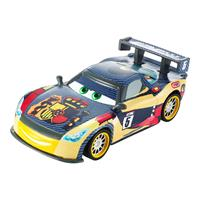 Mattel Disney Cars Carbon Racers Spielzeug Auto Miquel Camino