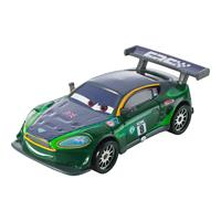 Mattel Disney Cars Carbon Racers Spielzeug Auto Nigel Gearsley