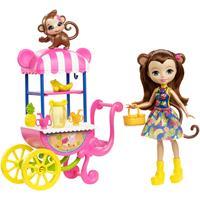 Mattel ENC Puppe & Zub. Merit Monkey u. Obststand