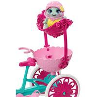 Mattel ENC Puppe & Zub. Taylee Turtle u. Fahrrad