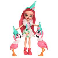 Mattel Enchantimals Themeset Let's Flamingle Dolls