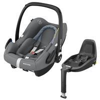 Maxi-Cosi Babyschale Rock inkl. Familyfix One i-Size Essential Grey