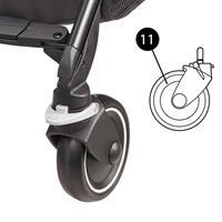 Maxi-Cosi Ersatzteil Vorderrad für Buggy Mila