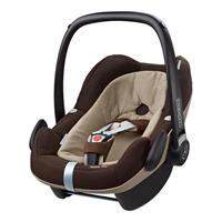 Maxi-Cosi Pebble Plus i-Size Babyschale Design 2017 Earth Brown