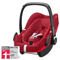 maxi cosi pebble plus babyschale isize 2016 robin red stiftung warentest GUT 11 2015 Hauptbild