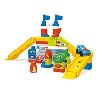 Mega Bloks FVJ02 Play-Set Race Car Work Shop