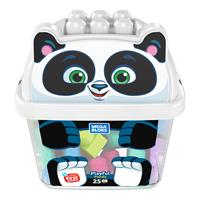 Mega Bloks Panda Building Blocks Box (25-piece)