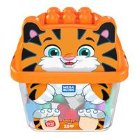 Mega Bloks Tiger Building Blocks Box (25-piece)