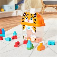 Mega Bloks Tiger Bausteinbox (25-teilig) | KidsComfort.eu