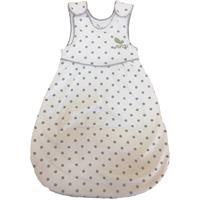 Minou leichter Baby Schlafsack aus Bio Baumwolle Graue Punkte Gr.50/56