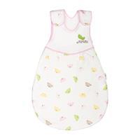 Minou Schlafsack für Frühchen aus Bio-Baumwolle Pink Bear Gr.45