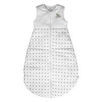 Minou Schlafsack mit Reißverschluß aus Bio Baumwolle Grey Stars 90 cm