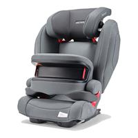 Recaro Kindersitz MONZA NOVA IS Seatfix Design 2020 Prime Silent Grey