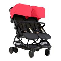 Mountain Buggy Doppelbuggy Nano Duo Design Ruby | KidsComfort.eu