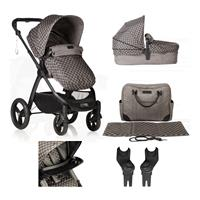 mountain buggy Combi Pram Cosmopolitan Luxury Bundle Design Geo incl. Carry Cot & Accessories