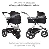 mountain buggy terrain kombikinderwagen 2019 graphite carrycot plus 1