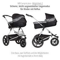 mountain buggy terrain kombikinderwagen 2019 graphite carrycot plus 2